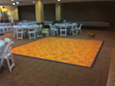 Dance Floor Tables And Chairs